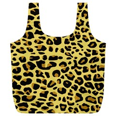 A Jaguar Fur Pattern Full Print Recycle Bags (L)