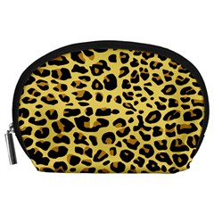 A Jaguar Fur Pattern Accessory Pouches (large)