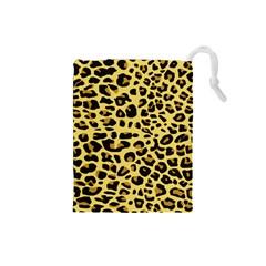 A Jaguar Fur Pattern Drawstring Pouches (small)