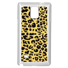 A Jaguar Fur Pattern Samsung Galaxy Note 4 Case (White)