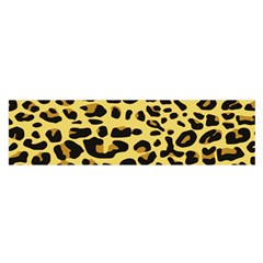 A Jaguar Fur Pattern Satin Scarf (oblong)