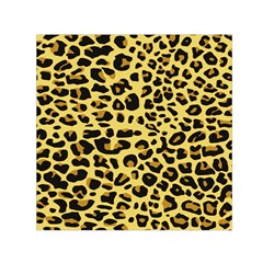 A Jaguar Fur Pattern Small Satin Scarf (square)
