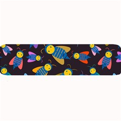 Bees Animal Insect Pattern Large Bar Mats