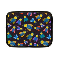 Bees Animal Insect Pattern Netbook Case (small)