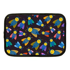 Bees Animal Insect Pattern Netbook Case (Medium)