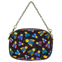 Bees Animal Insect Pattern Chain Purses (One Side)