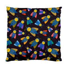 Bees Animal Insect Pattern Standard Cushion Case (One Side)