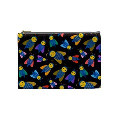 Bees Animal Insect Pattern Cosmetic Bag (Medium)