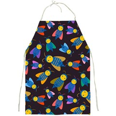 Bees Animal Insect Pattern Full Print Aprons