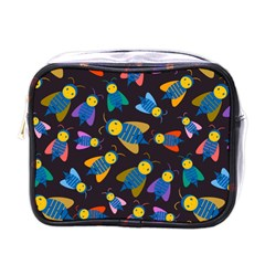 Bees Animal Insect Pattern Mini Toiletries Bags