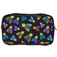 Bees Animal Insect Pattern Toiletries Bags 2-Side