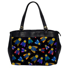 Bees Animal Insect Pattern Office Handbags