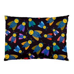 Bees Animal Insect Pattern Pillow Case (Two Sides)