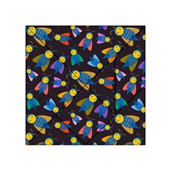 Bees Animal Insect Pattern Acrylic Tangram Puzzle (4  X 4 )