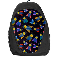 Bees Animal Insect Pattern Backpack Bag