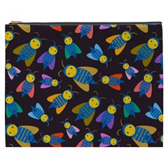 Bees Animal Insect Pattern Cosmetic Bag (XXXL)