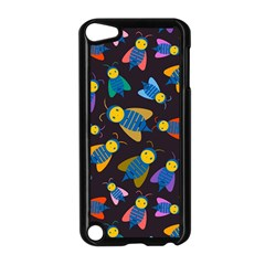 Bees Animal Insect Pattern Apple iPod Touch 5 Case (Black)