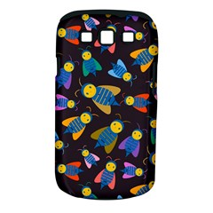 Bees Animal Insect Pattern Samsung Galaxy S III Classic Hardshell Case (PC+Silicone)