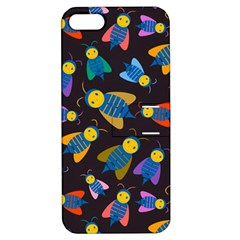Bees Animal Insect Pattern Apple Iphone 5 Hardshell Case With Stand