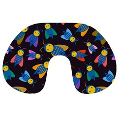 Bees Animal Insect Pattern Travel Neck Pillows