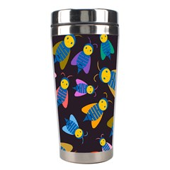 Bees Animal Insect Pattern Stainless Steel Travel Tumblers