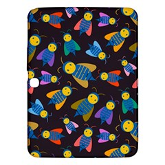 Bees Animal Insect Pattern Samsung Galaxy Tab 3 (10.1 ) P5200 Hardshell Case