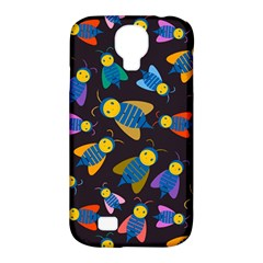 Bees Animal Insect Pattern Samsung Galaxy S4 Classic Hardshell Case (PC+Silicone)