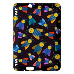 Bees Animal Insect Pattern Kindle Fire Hdx Hardshell Case