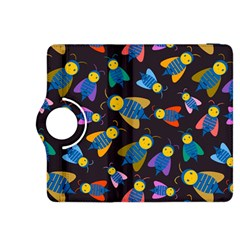 Bees Animal Insect Pattern Kindle Fire HDX 8.9  Flip 360 Case