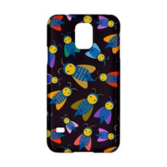 Bees Animal Insect Pattern Samsung Galaxy S5 Hardshell Case