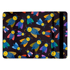 Bees Animal Insect Pattern Samsung Galaxy Tab Pro 12 2  Flip Case