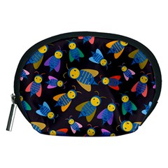 Bees Animal Insect Pattern Accessory Pouches (Medium)
