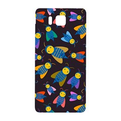 Bees Animal Insect Pattern Samsung Galaxy Alpha Hardshell Back Case