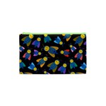 Bees Animal Insect Pattern Cosmetic Bag (XS) Front