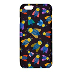 Bees Animal Insect Pattern iPhone 6/6S TPU Case