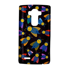 Bees Animal Insect Pattern LG G4 Hardshell Case