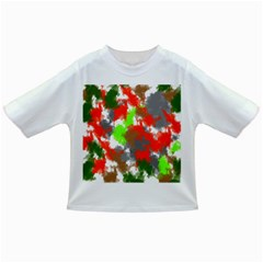 Abstract Watercolor Background Wallpaper Of Splashes  Red Hues Infant/Toddler T-Shirts