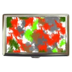 Abstract Watercolor Background Wallpaper Of Splashes  Red Hues Cigarette Money Cases