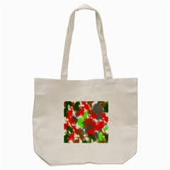 Abstract Watercolor Background Wallpaper Of Splashes  Red Hues Tote Bag (Cream)