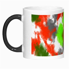 Abstract Watercolor Background Wallpaper Of Splashes  Red Hues Morph Mugs