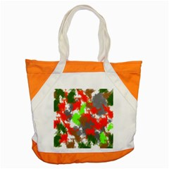 Abstract Watercolor Background Wallpaper Of Splashes  Red Hues Accent Tote Bag