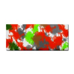 Abstract Watercolor Background Wallpaper Of Splashes  Red Hues Cosmetic Storage Cases
