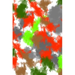 Abstract Watercolor Background Wallpaper Of Splashes  Red Hues 5.5  x 8.5  Notebooks