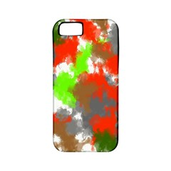 Abstract Watercolor Background Wallpaper Of Splashes  Red Hues Apple iPhone 5 Classic Hardshell Case (PC+Silicone)