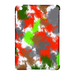 Abstract Watercolor Background Wallpaper Of Splashes  Red Hues Apple iPad Mini Hardshell Case (Compatible with Smart Cover)