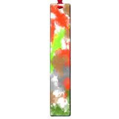 Abstract Watercolor Background Wallpaper Of Splashes  Red Hues Large Book Marks