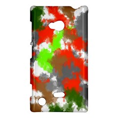 Abstract Watercolor Background Wallpaper Of Splashes  Red Hues Nokia Lumia 720