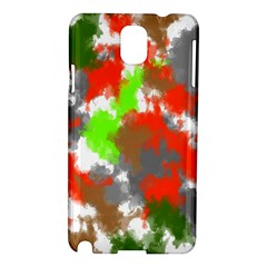Abstract Watercolor Background Wallpaper Of Splashes  Red Hues Samsung Galaxy Note 3 N9005 Hardshell Case