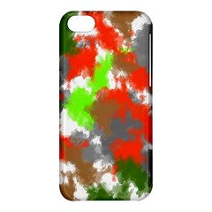 Abstract Watercolor Background Wallpaper Of Splashes  Red Hues Apple iPhone 5C Hardshell Case