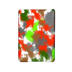 Abstract Watercolor Background Wallpaper Of Splashes  Red Hues Ipad Mini 2 Hardshell Cases